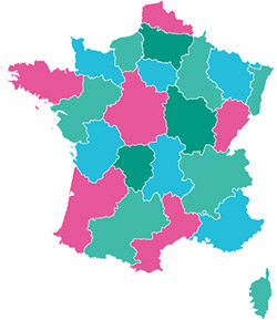 carte france conseillers Bio Confort